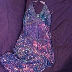 BRAND NEW Sequin Evening/Prom Gown